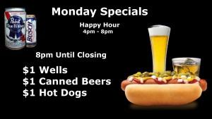 02 Monday Specials